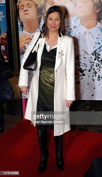 Evelyne Thomas during 'Podium' Paris Premiere at Paramount Opera in Paris France