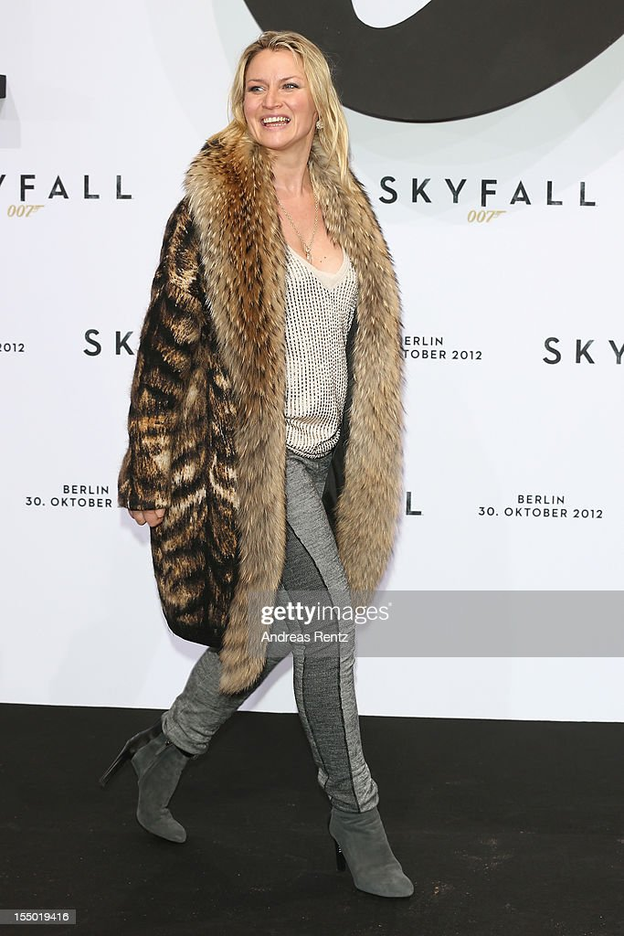 Eve-Maren Buechner attends the 'Skyfall' Germany premiere at Theater am Potsdamer Platz on October 30, 2012 in Berlin, Germany.