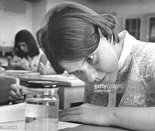 JUN 18 1968 JUN 22 1968 JUN 26 1968 Even a Sponge Has Interest Kay Sandstrom daughter of Mr and Mrs George Sandstrom 25 S Cody St Lakewood is...