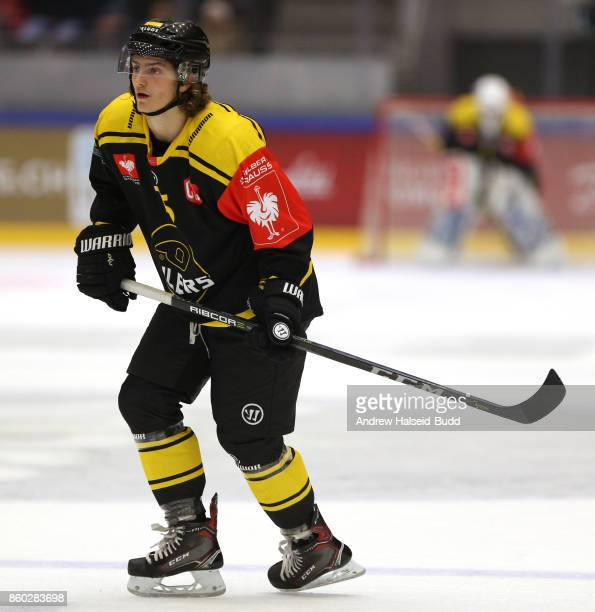 Even Myreng Kjellesvik of Stavanger Oilers in action during the Champions Hockey League match between Stavanger Oilers and KalPa Kuopio at the DNB...