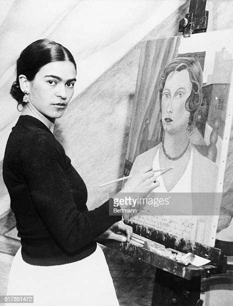 1/22/1931 Even though her famous husband sits by and declines to comment on her art ambitions Mrs Diego Rivera wife of the famous Mexican artist can...