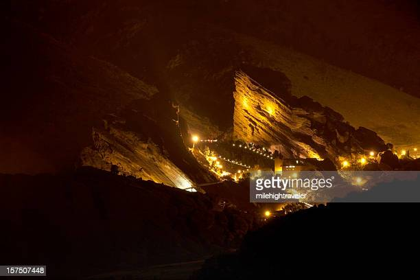 Sera concerto a Anfiteatro Red Rocks, Colorado
