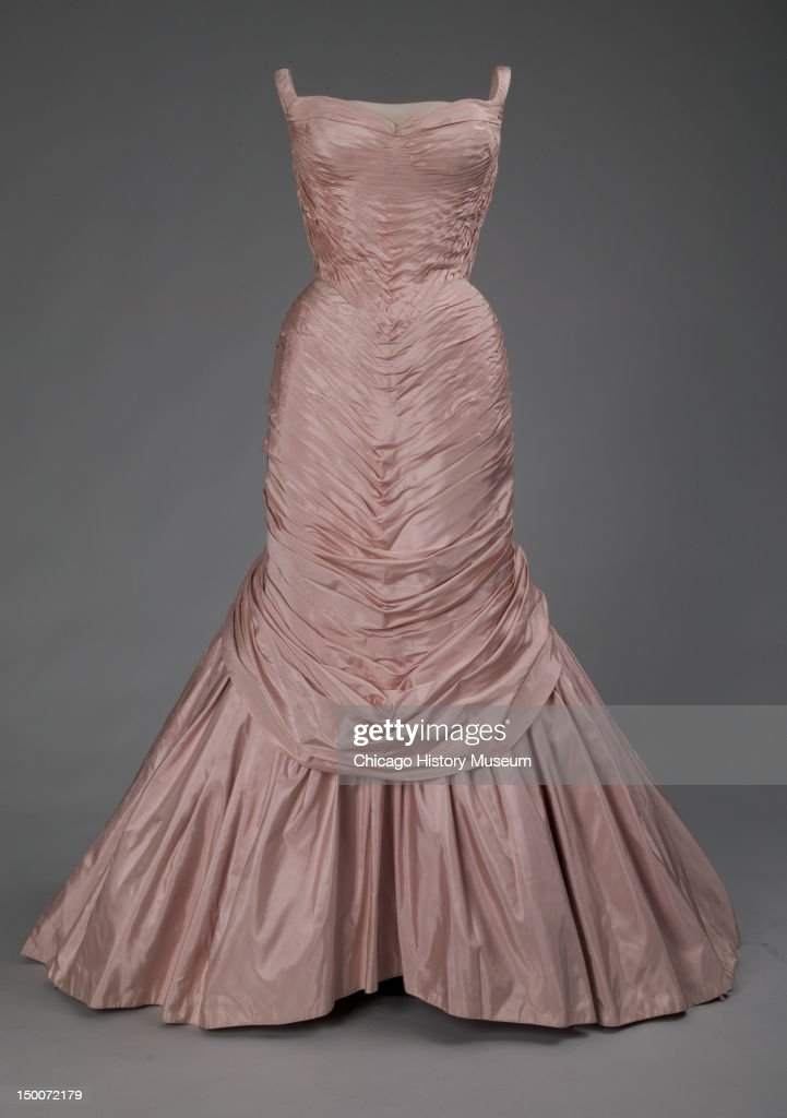 Evening dress Tree 1957 Silk taffeta by Charles James Known as the 'Tree' gown numerous versions of this dress were created in various colors between...