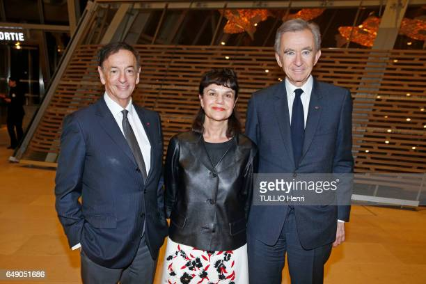 Evening gala at the Vuitton Foundation to thank the personalities who helped in organizing the exhibition Chtchoukine in Paris on February 20 2017...