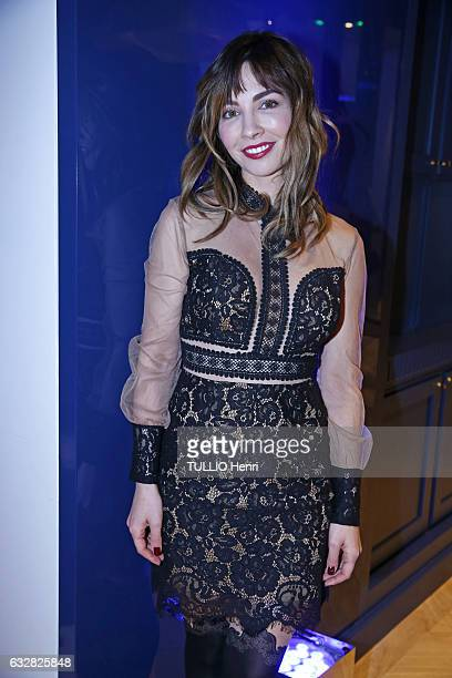 Evening gala for the 25th anniversary of the perfume Angel by Thierry Mugler at the Museum of Perfume in Paris on January 05 2017 Alix Benezech