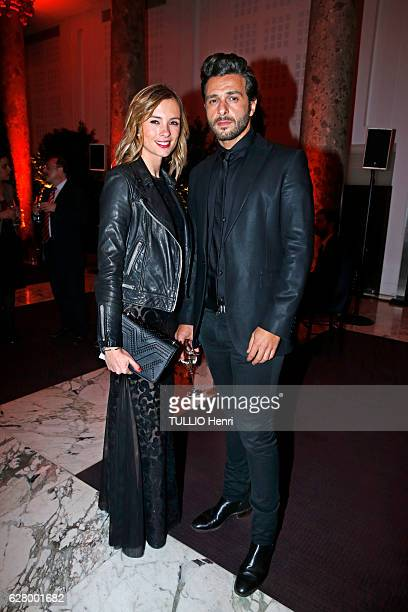 Evening gala for the 70th anniversary of the foundation Care International at the Espace Cambon in Paris on November 21 2016 Maxim Nucci from the...