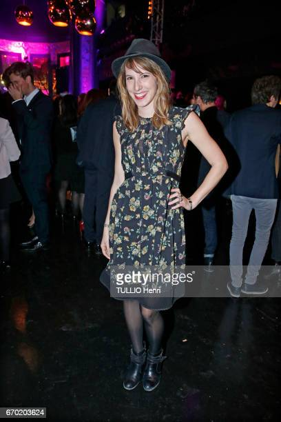 Evening gala for the new perfume Pour un Homme by Caron at the Theatre du Renard in Paris on March 22 2017 the actress Lea Francois
