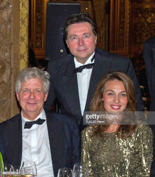 Evening Gala for the opening of the dance season at the Opera Garnier in Paris on September 21 2017 Stephane Lissner General Director of the Opera de...