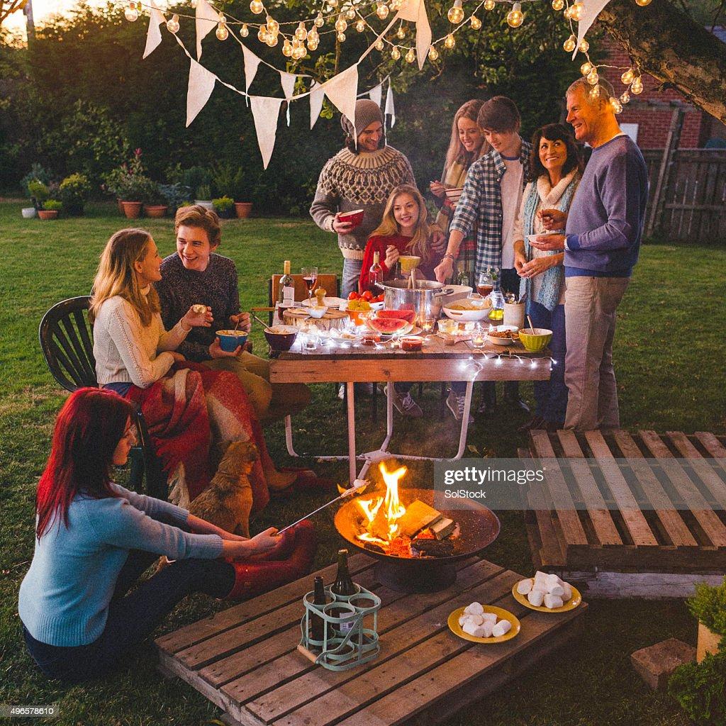 Evening Garden Party