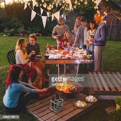 Garden party stock photos and pictures getty images Home and garden party
