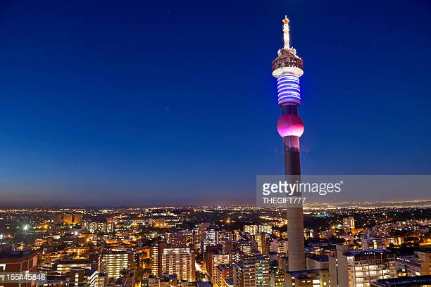 Evening Hillbrow Tower, Johannesburg