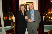 Evening In Honour Of 'Variety' Magazine Given By Cannes Film Festival Organisation At The Grand Hotel On April 27 2004 In Paris France Viviane Reding...