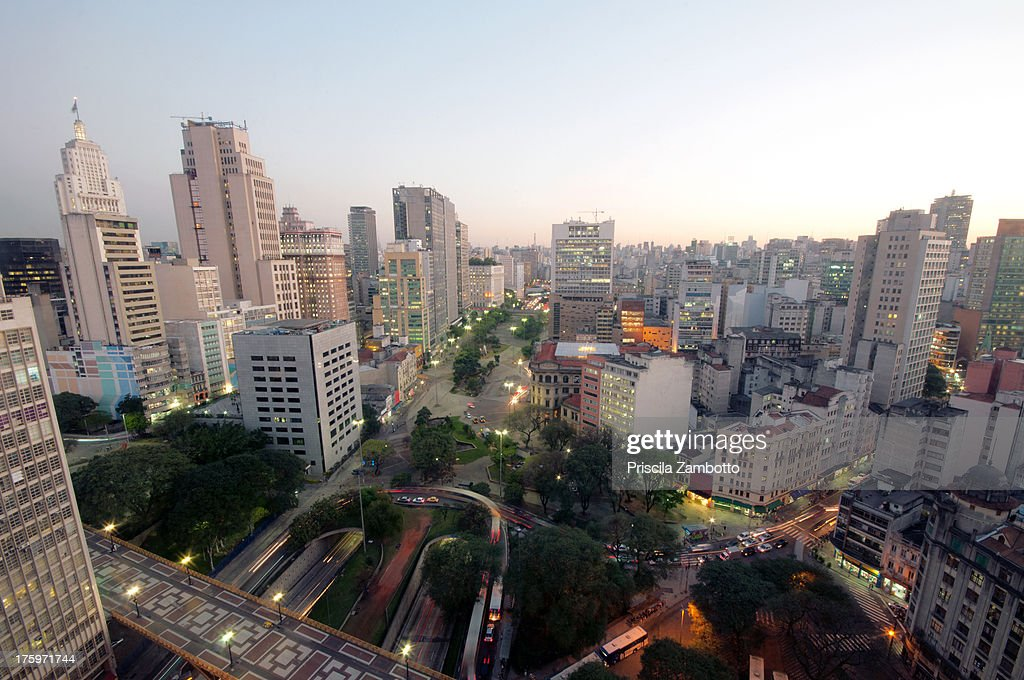 Evening in Sao Paulo