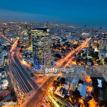 Evening in Tel-Aviv