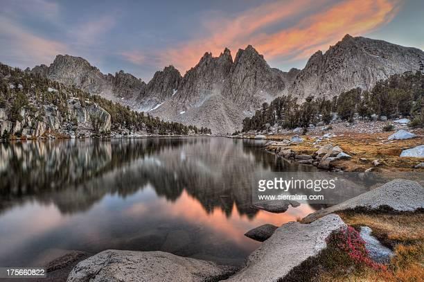 Evening Kearsarge Pinnacles Reflections