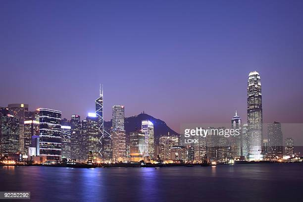 Evening of Hong Kong