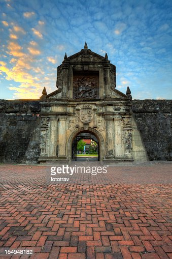 Abend am Fort Santiago – Intramuros, Manila, Philippinen
