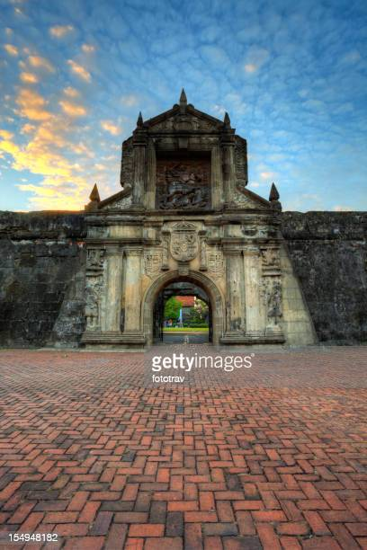 Evening on Fort Santiago - Manila Intramuros, Philippines