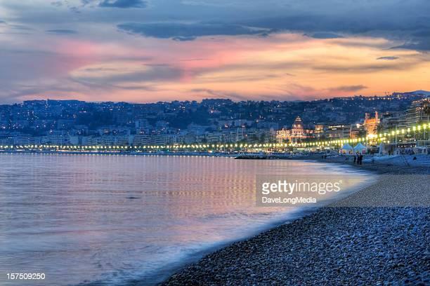 Soirée sur la Côte d'Azur