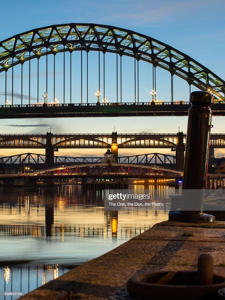 Evening on the Tyne