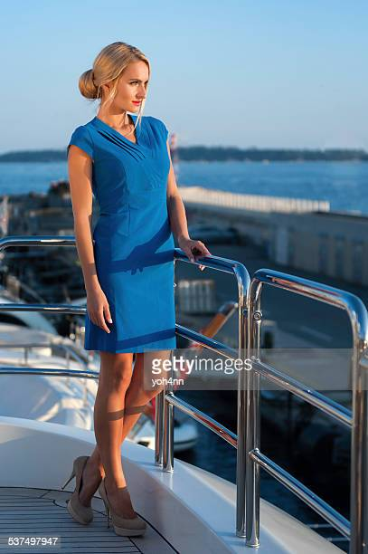 Evening on yacht