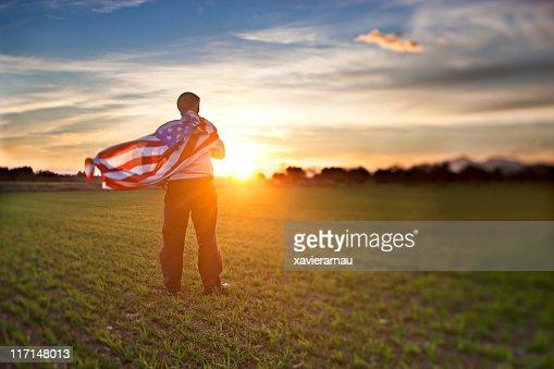 Abend-Patriotismus