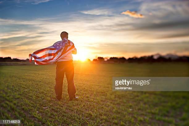 Evening patriotism