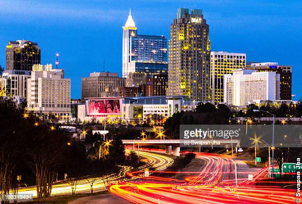 Evening Rush hour in Raleigh, NC