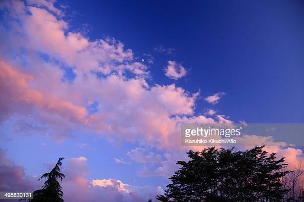 Evening sky, Japan