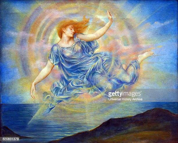 Evening Star over the Sea by Evelyn De Morgan English PreRaphaelite painter