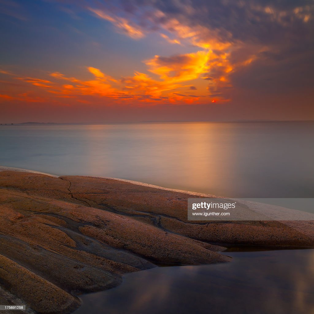 evening stillness : Stock Photo