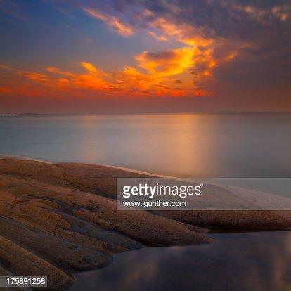 evening stillness : Stock Photo