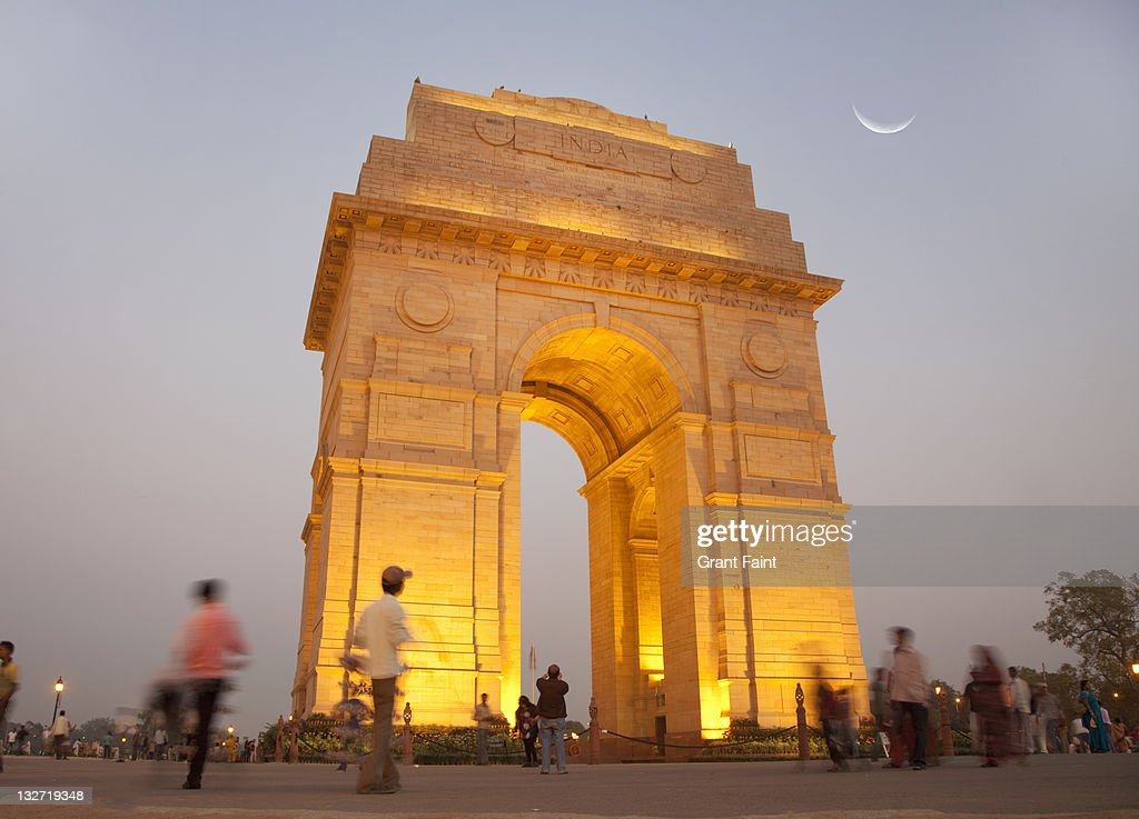 Evening view of monument. : Stock Photo