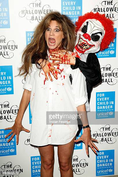 Event Chair and UNICEF UK Ambassador Jemima Khan attends the UNICEF Halloween Ball at One Mayfair on October 29 2015 in London England