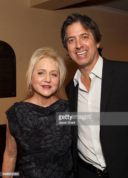 Event chair Loraine Boyle and actor Ray Romano attend the International Myeloma Foundation 8th Annual Comedy Celebration benefiting The Peter Boyle...