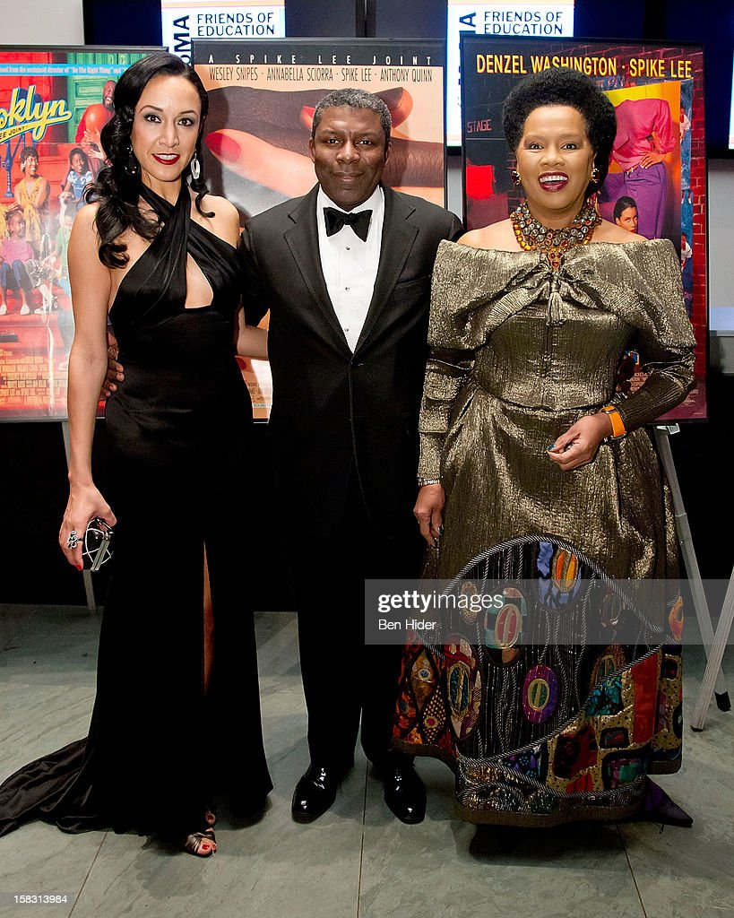 Event chairs Eboni Gates, Eric Barkley and Sherry Bronfman attends The Museum of Modern Art's Jazz Interlude Gala at MOMA on December 12, 2012 in New York City.