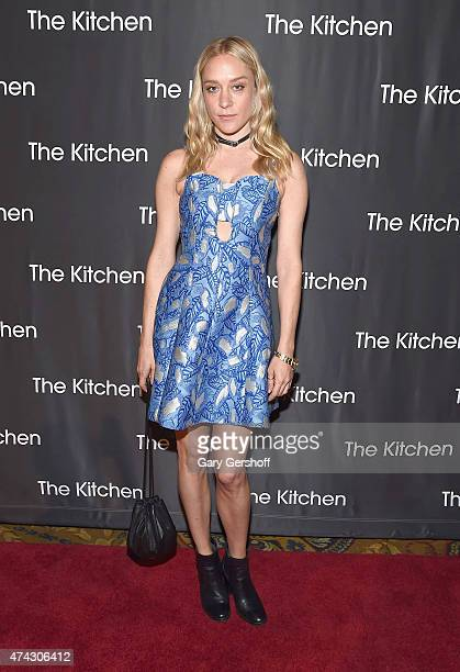 Event cochair actress Chloe Sevigny attends The Kitchen's Spring 2015 Gala at Cipriani Wall Street on May 21 2015 in New York City