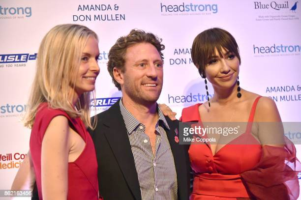 Event cochair and former senior editor of Vogue Meredith Melling Event cochair Marine veteran Founder of Headstrong Zach Iscol and Actress Jackie...