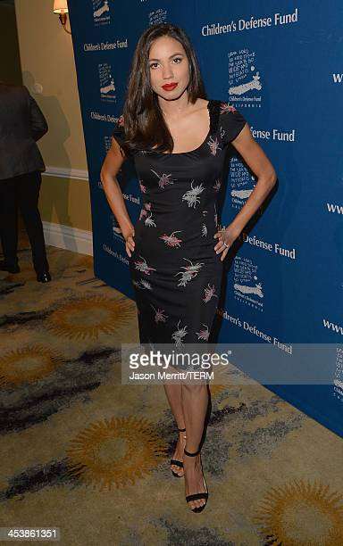 Event CoChair Jurnee Smollett attends 23rd Annual Beat The Odds Awards hosted by Children's Defense FundCalifornia on December 5 2013 in Beverly...
