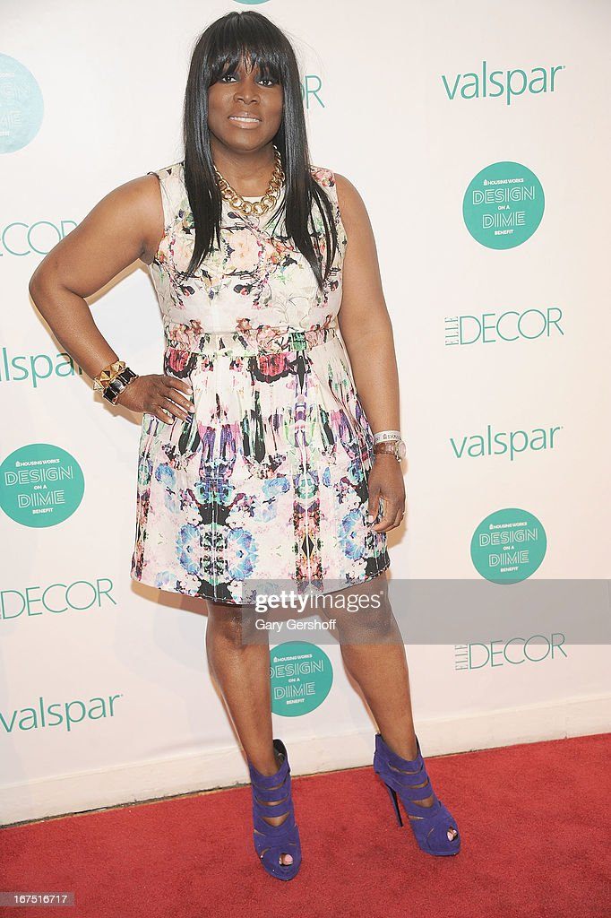 Event co-chair Yetta Banks attends Housing Works 9th Annual Design On A Dime Benefit at Metropolitan Pavilion on April 25, 2013 in New York City.