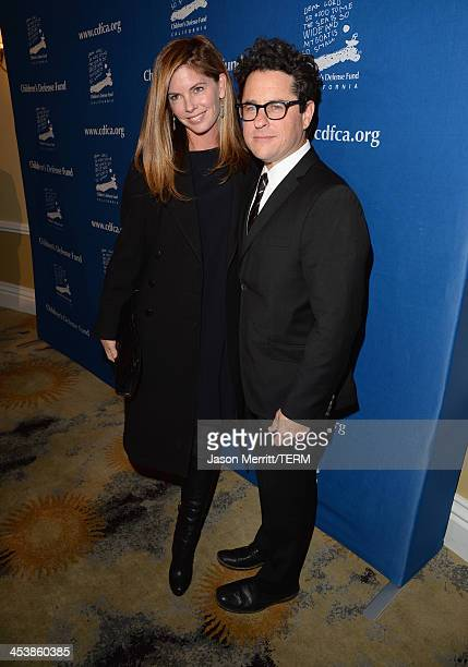 Event CoChairs Katie McGrath and JJ Abrams attend 23rd Annual Beat The Odds Awards hosted by Children's Defense FundCalifornia on December 5 2013 in...