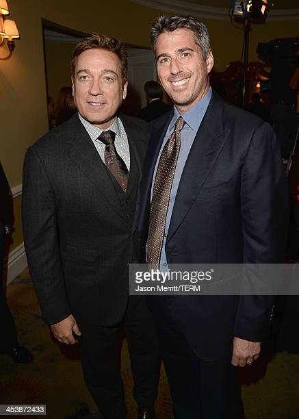Event CoChairs Kevin Huvane and Casey Wasserman attend 23rd Annual Beat The Odds Awards hosted by Children's Defense FundCalifornia on December 5...