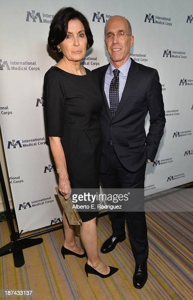 Event Cochairs Marilyn Katzenberg and Jeffrey Katzenberg attend International Medical Corps Annual Awards Celebration at Regent Beverly Wilshire...