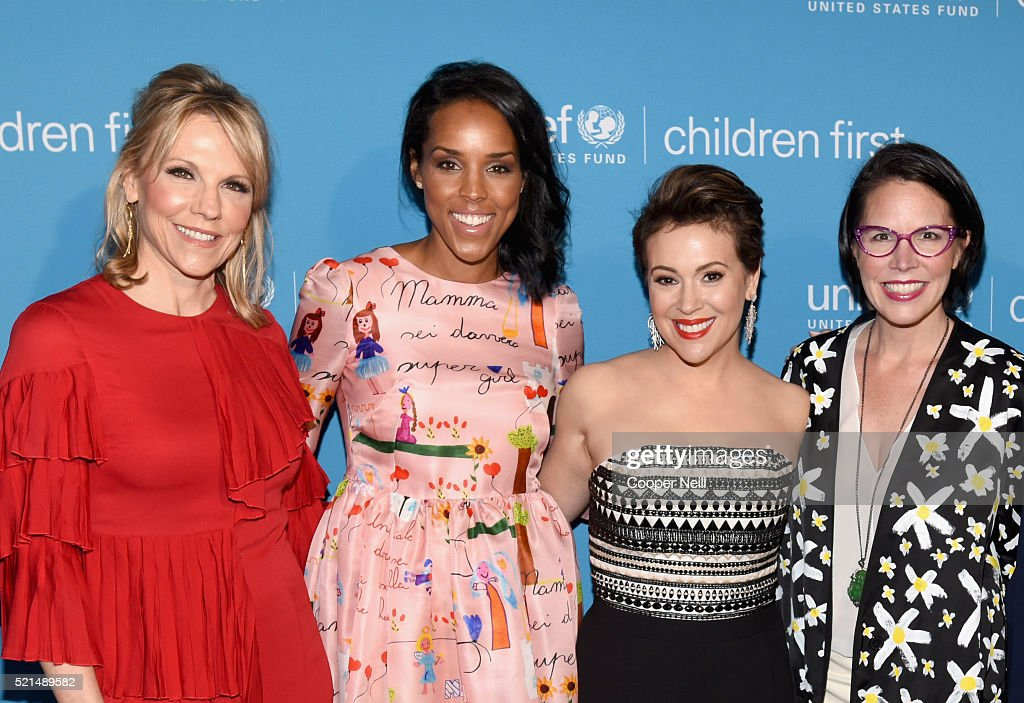 Children First. An Evening With Unicef Honor Alyssa Milano, Pier 1 Imports' And Sterling McDavid