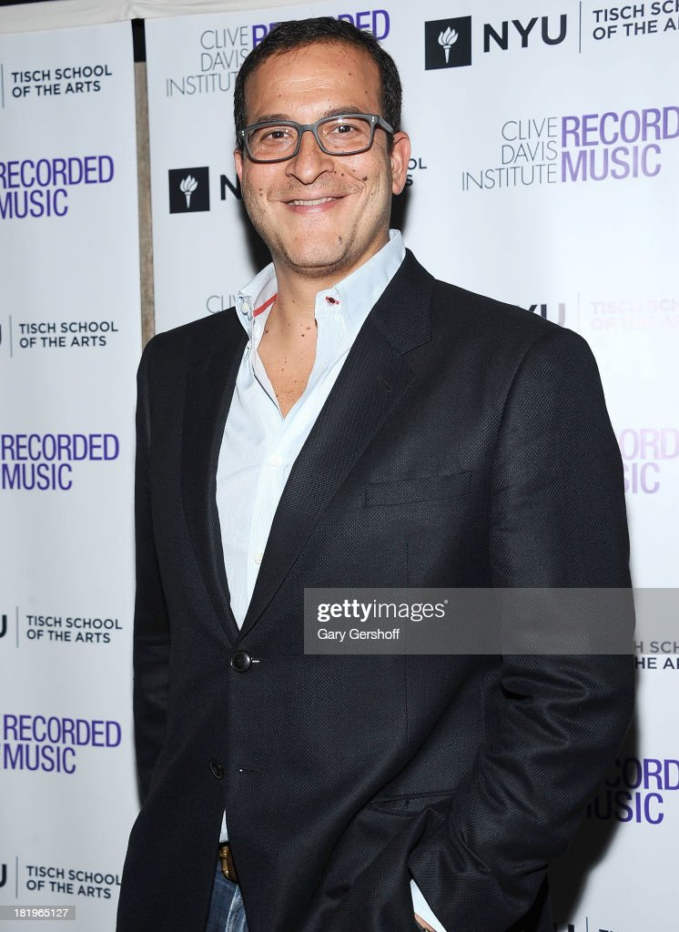 Event co-host <a gi-track='captionPersonalityLinkClicked' href=/galleries/search?phrase=Doug+Davis&family=editorial&specificpeople=211598 ng-click='$event.stopPropagation()'>Doug Davis</a> attends the Clive Davis Institute Of Recorded Music 10th Anniversary Party at Gallow Green at the McKittrick Hotel on September 26, 2013 in New York City.