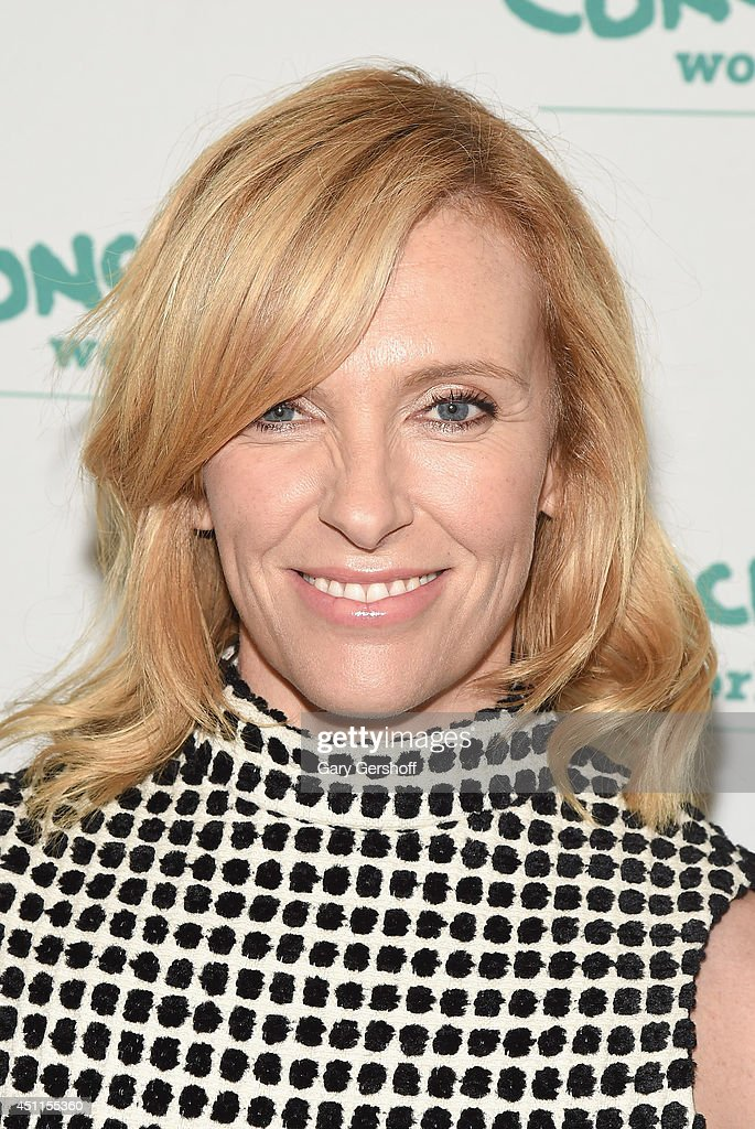 Event honoree, actress <a gi-track='captionPersonalityLinkClicked' href=/galleries/search?phrase=Toni+Collette&family=editorial&specificpeople=204673 ng-click='$event.stopPropagation()'>Toni Collette</a> attends the 12th 'Annual Women Of Concern' awards at The Pierre Ballroom on June 24, 2014 in New York City.