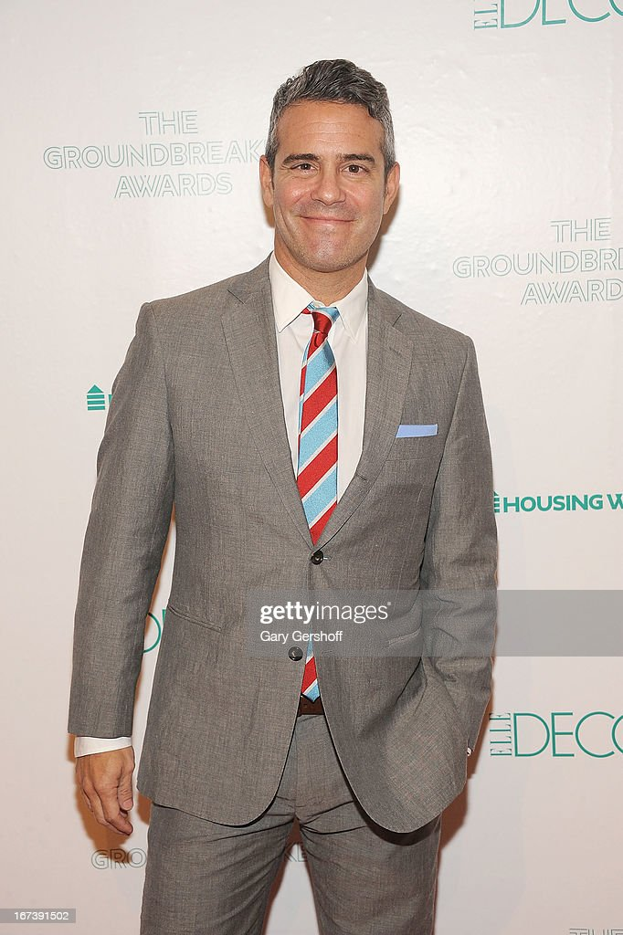 Event honoree <a gi-track='captionPersonalityLinkClicked' href=/galleries/search?phrase=Andy+Cohen+-+Television+Personality&family=editorial&specificpeople=7879180 ng-click='$event.stopPropagation()'>Andy Cohen</a> attends Housing Works Groundbreaker Awards at Metropolitan Pavilion on April 24, 2013 in New York City.