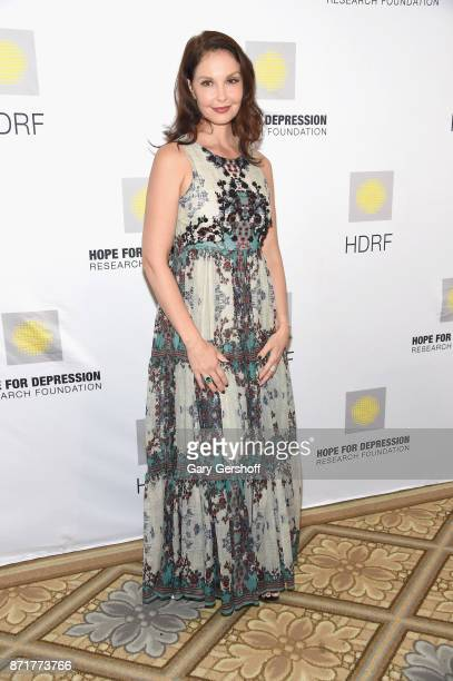 Event honoree Ashley Judd attends the 11th Annual Hope For Depression Research Foundation HOPE luncheon at The Plaza Hotel on November 8 2017 in New...