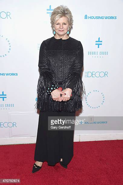 Event honoree Charlotte Moss attends The Housing Works Groundbreaker Awards 2015 at Metropolitan Pavilion on April 22 2015 in New York City