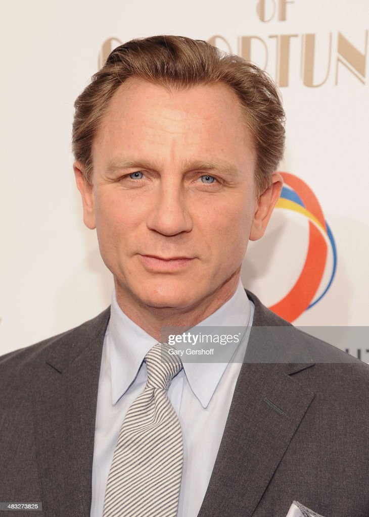Event honoree Daniel Craig attends the 7th annual Night of Opportunity Gala at Cipriani Wall Street on April 7, 2014 in New York City.